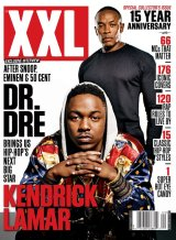 Dr. Dre and Kendrick Lamar cover XXL
