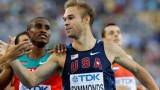 U.S. Olympian runs mile while chugging beers