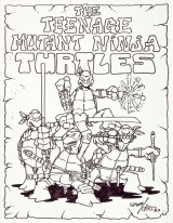 Dope: Original Teenage Mutant Ninja Turtles art